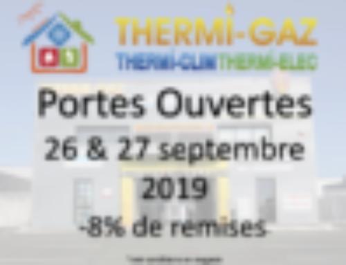 Portes ouvertes les 26 & 27 septembre 2019